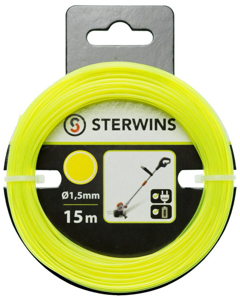 Żyłka tnąca S2SQSN1 1.5 mm x 15 m STERWINS