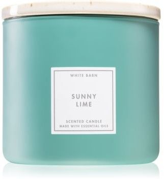 Bath & Body Works Sunny Lime świeczka zapachowa 411 g