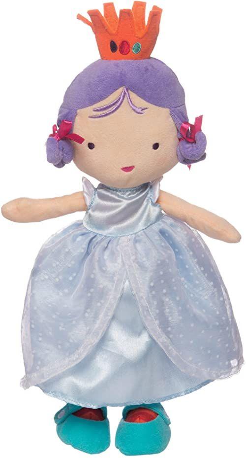 Manhattan Toy Księżniczka Jellybeans Gigi miękka lalka księżniczka, 35,56 cm