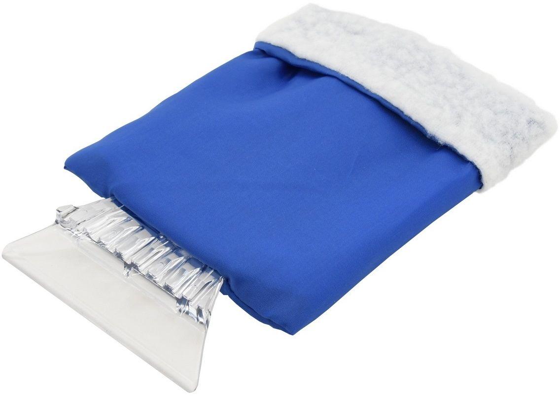 Compass Skrobak do lodu z rękawicą, niebieski