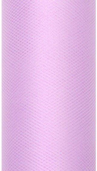 Tiul dekoracyjny lawendowy 15cm rolka 9m TIU15-002 - LAWENDOWY 15CM