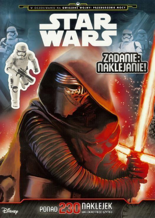 Zadanie: naklejanie! Star Wars
