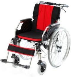 Wózek inwalidzki stalowo-aluminiowy VCWK9AC