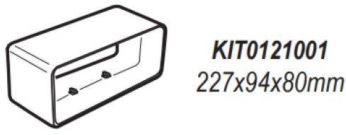 Łącznik prostokątny 227x94 mm - Największy wybór - 28 dni na zwrot - Pomoc: +48 13 49 27 557