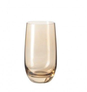 Leonardo Sora szklanka 390ml brązowa