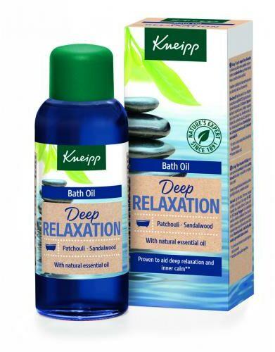 Kneipp Deep Relaxation Bath Oil Patchouli & Sandalwood olejek pod prysznic 100 ml unisex