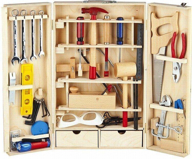 """Narzędzia dla dzieci w walizce """"XL"""" - zabawki dla chłopców"""