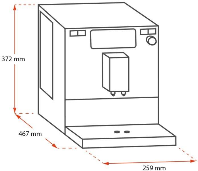 Melitta Barista TS Smart Srebrny - Ekspres ciśnieniowy