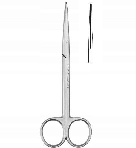 Nożyczki METZENBAUM preparacyjne ostro/ostre 14cm
