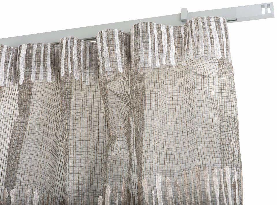 InCasa Karnisz 32 x 12 mm, długość 140 cm, satynowy aluminium