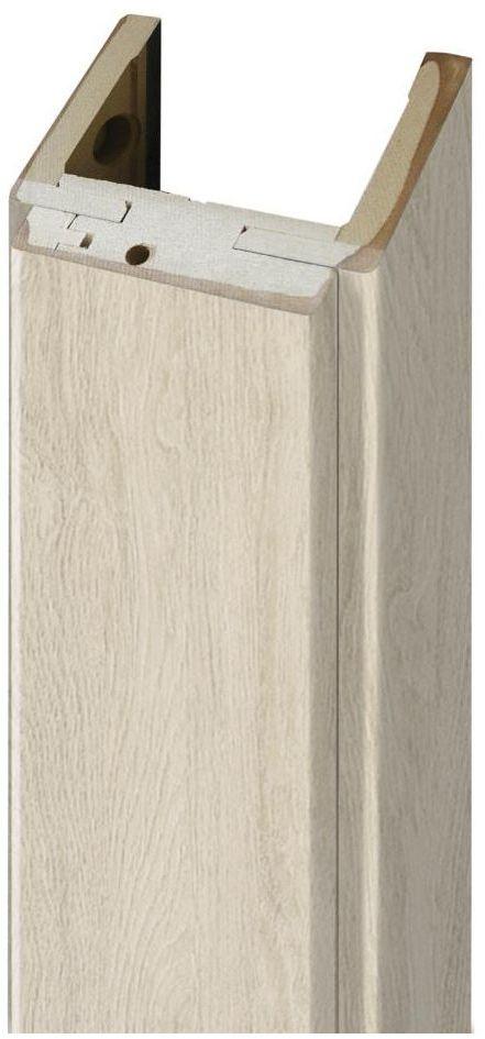 Ościeżnica REGULOWANA do drzwi przesuwnych 70 Dąb silver 160 - 180 mm ARTENS