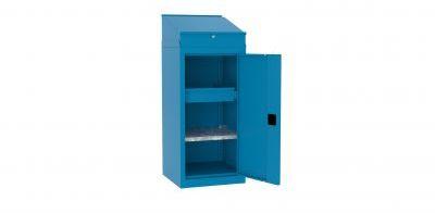 Metalowa szafka warsztatowa SMD515/5 pulpit