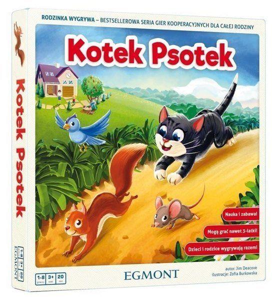 Gra Kotek psotek - Egmont