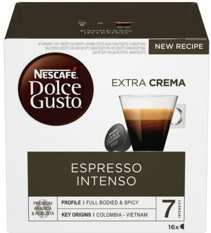 Nescafe Dolce Gusto Espresso Intenso - szybka wysyłka!