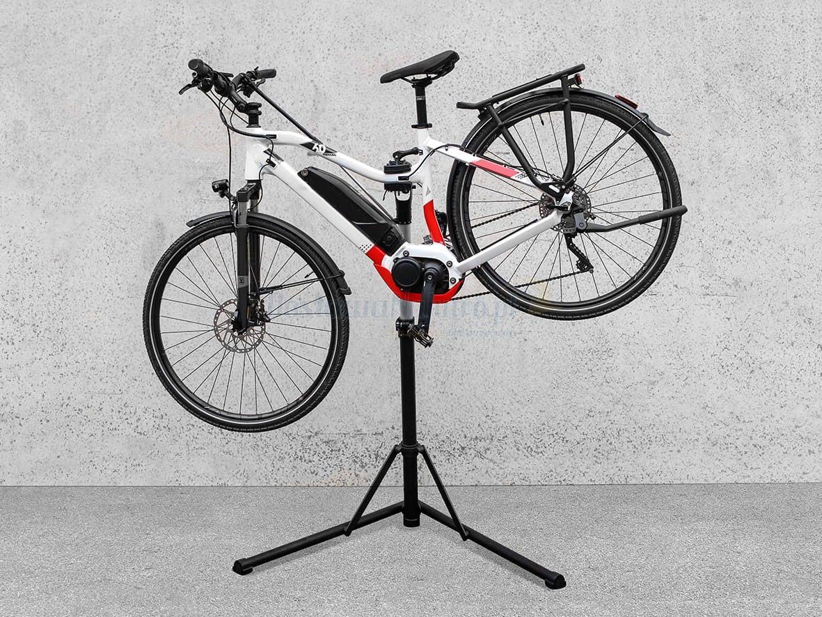 serwisowy stojak rowerowy Eufab alu mocny e-bike do 30 kg składany