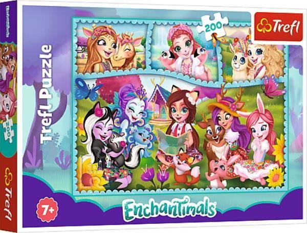 Puzzle 200 Niezwykły świat Enchantimals ZAKŁADKA DO KSIĄŻEK GRATIS DO KAŻDEGO ZAMÓWIENIA