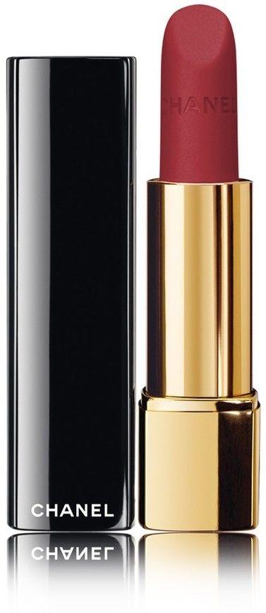 Chanel Rouge Allure Velvet jedwabista pomadka z matowym wykończeniem odcień 51 La Bouleversante 3,5 g