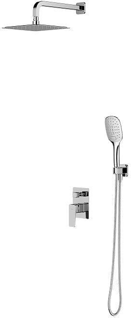 OMNIRES System prysznicowy podtynkowy Parma, chrom SYSPM10CR