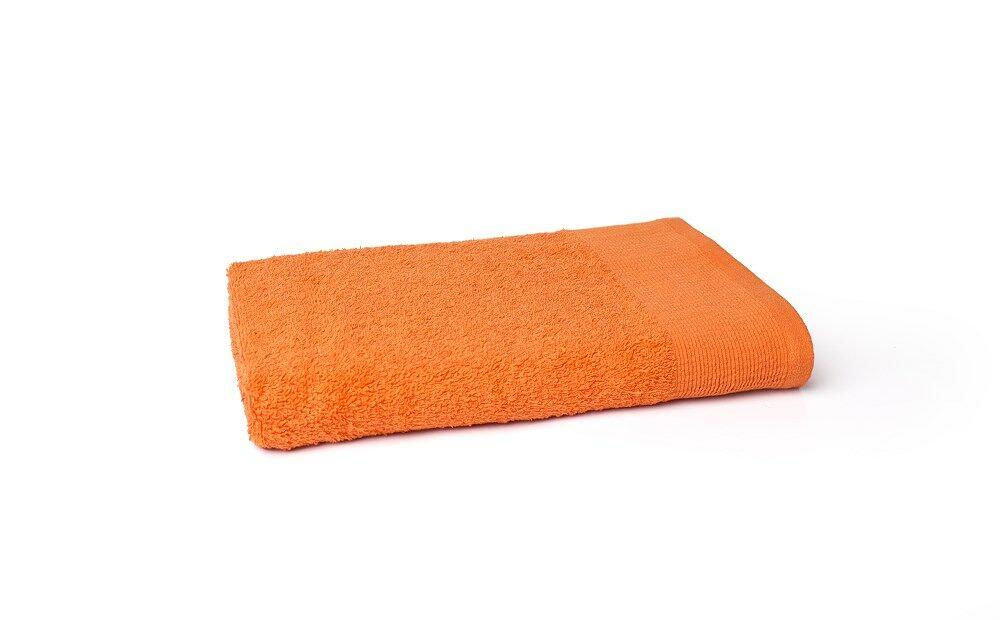 Ręcznik Aqua 70x140 pomarańczowy frotte 500 g/m2 Faro