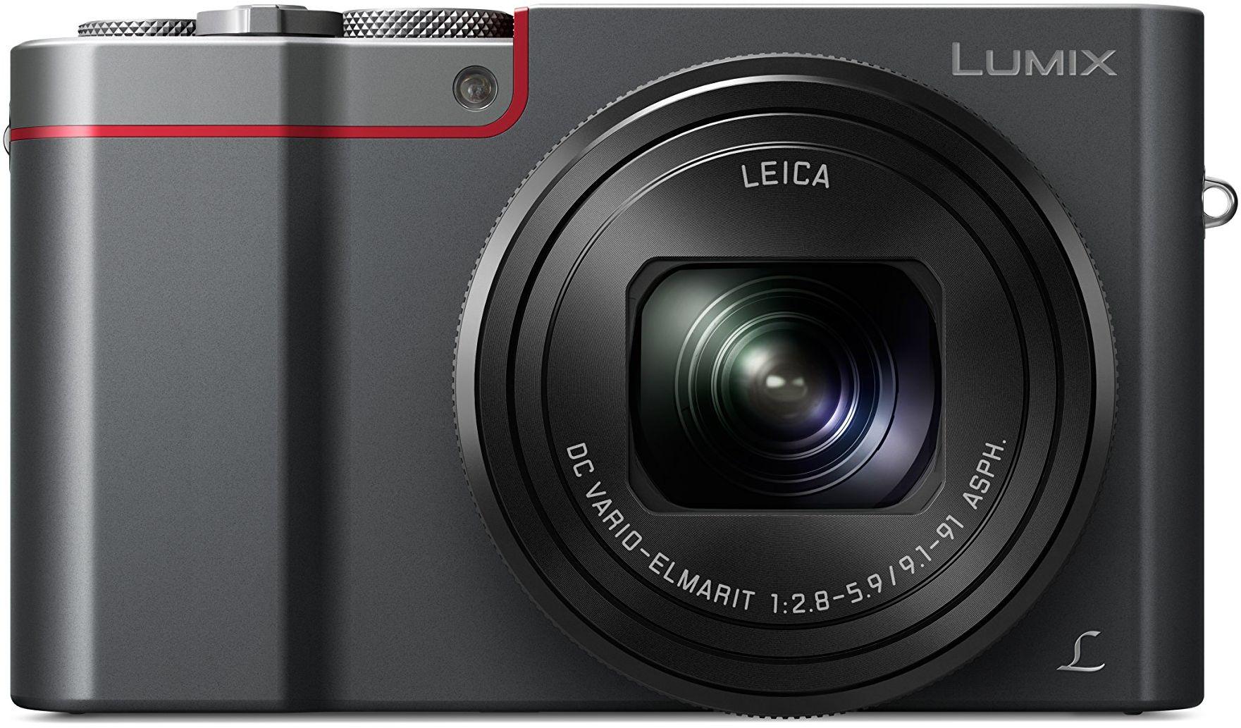 Panasonic Lumix DMC-TZ101EGS Travelzoom aparat fotograficzny (20,1 MP, 10x zoom LEICA, 4K, wyszukiwarka, 3-calowy ekran dotykowy LCD, srebrny)