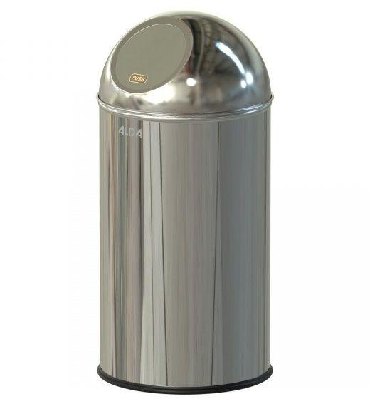 Kosz na śmieci 20L Clean World stal połysk Kosze na odpady
