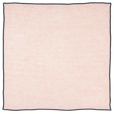 Serwetka kwadratowa DUKA RENHET TRAD 40x40 cm różowa