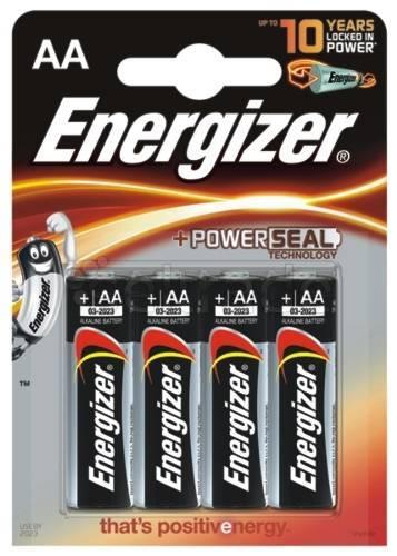 Baterie ENERGIZER ALKALINE POWER, AA, LR6, 1, 5V, 4SZT. - X06221