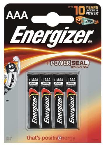 Baterie ENERGIZER ALKALINE POWER, AAA, LR03, 1, 5V, 4SZT. - X06222