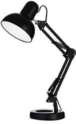 Lampa biurkowa Kelly TL1 108094 Ideal Lux czarna oprawa w nowoczesnym stylu