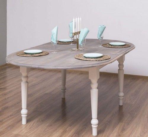 Stół owalny rozkładany 180x120