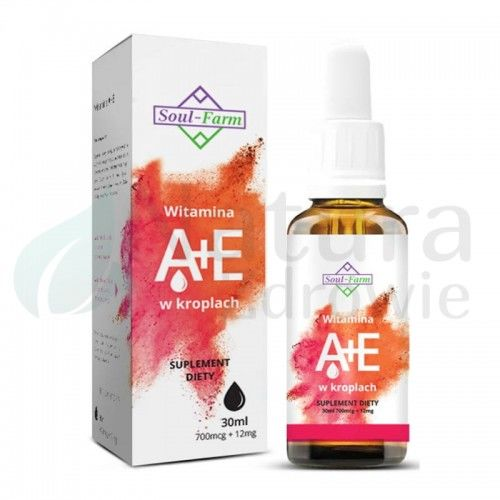 Witamina A + E w kroplach 30ml Premium