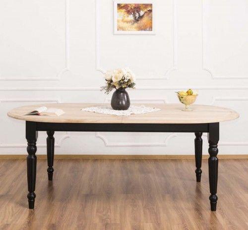 Stół owalny rozkładany 210x120