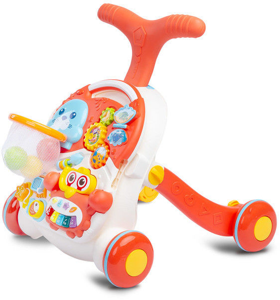 Caretero Toyz Spark Pchacz stolik 2w1 Orange