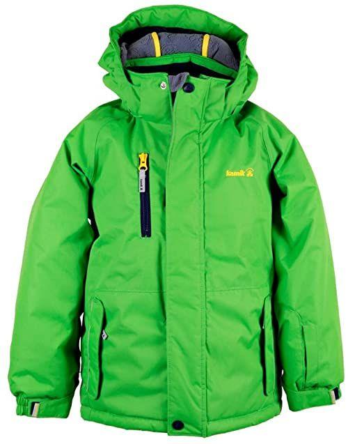 Kamik chłopięca kurtka dziecięca Hunter zielony c green 86