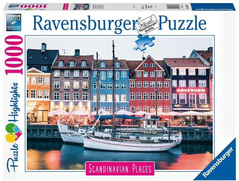 Puzzle 1000 elementów Skandynawskie miasto (GXP-764210)