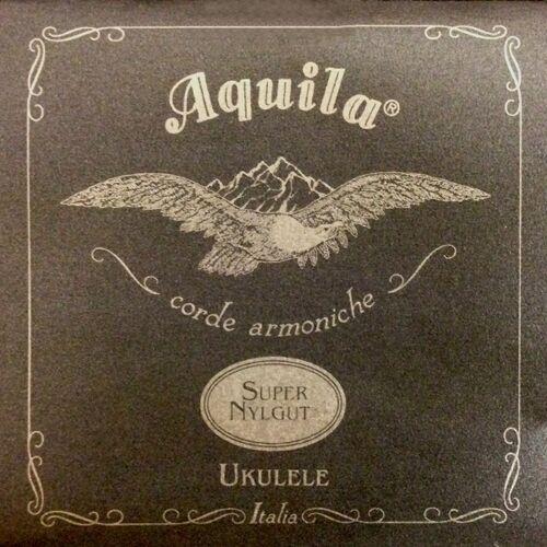 Aquila Super Nylgut struny do ukulele, GCEA Tenor, wound low-G