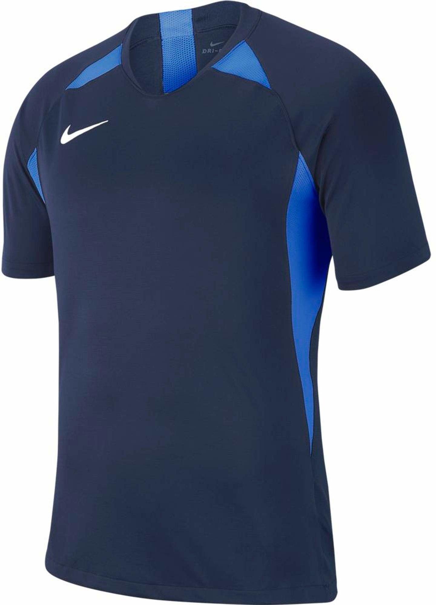 Nike uniseks koszulka legendowa dla dzieci S/S Jersey Midnight Navy/Royal Blue/White S