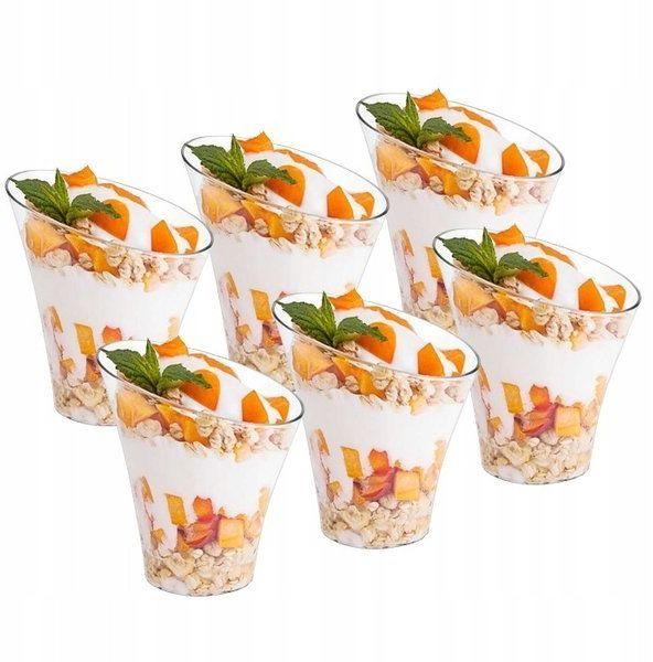 Pucharki pojemniczki na mini deserki 180ml 6 sztuk KAT09406