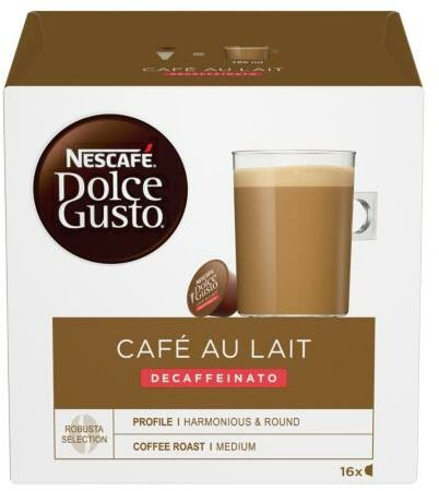 Nescafe Dolce Gusto Café au Lait Decaffeinato - szybka wysyłka!