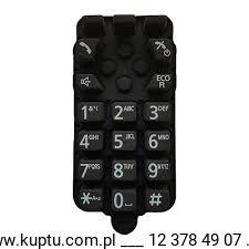 PNJK1072Y, klawiatura do słuchawki telefonów Panasonic serii KX-TG25xx