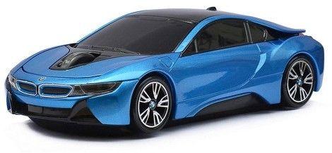 BMW i8 - niebieski - mysz bezprzewodowa samochód Landmice