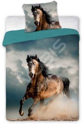 Pościel 3D - Konie - 140X200 - Bawełna PREMIUM