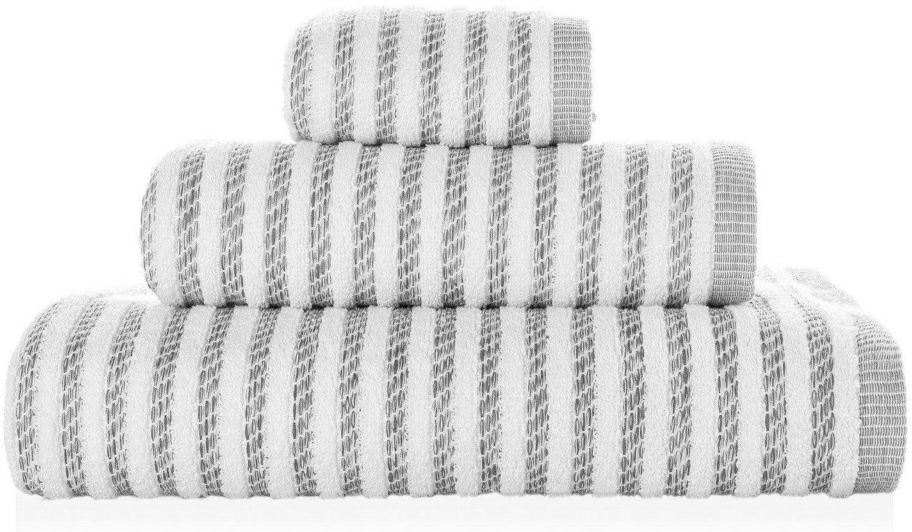 Ręcznik bawełniany Sorema New York Magnetic Grey
