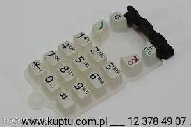 PNJK1152Z, klawiatura do słuchawki telefonów Panasonic serii KX-TG67xx