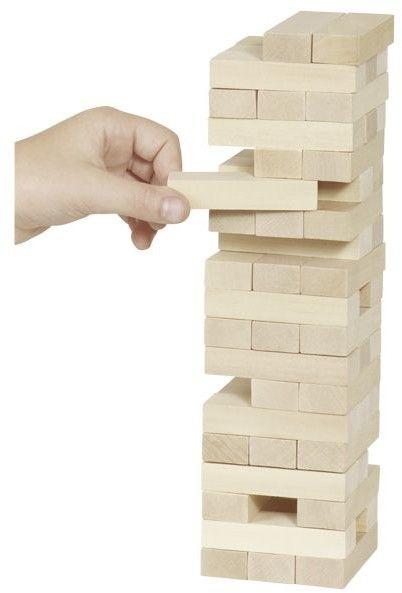 Wieża z klocków - gra od firmy Goki
