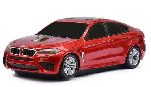 BMW X6M - czerwony - Landmice mysz bezprzewodowa samochód