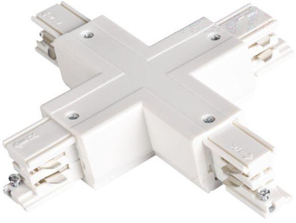 Elementy systemu szynowego TEAR łącznik krzyżowy TEAR N CON-X W biały 33246