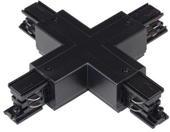 Elementy systemu szynowego TEAR łącznik krzyżowy TEAR N CON-X B czarny 33247
