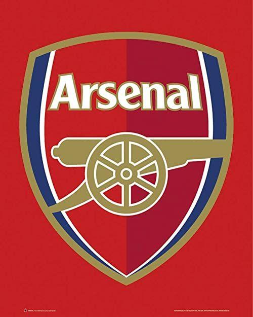 Mini plakat piłkarski arsenał Londyn Club logo z akcesorium przedmiot wielokolorowe