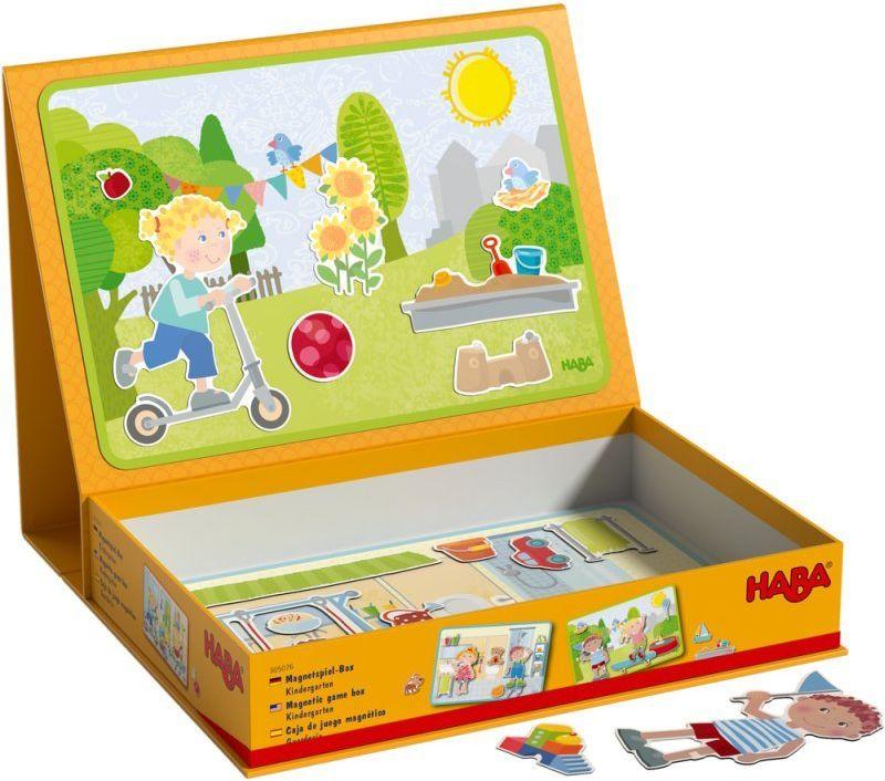 Książka magnetyczna Wesołe przedszkole HB305076-Haba, układanki dla dzieci